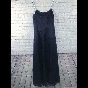 Ralph Lauren Black Label 100% Silk Gown Sz 6
